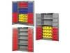 BIN STORAGE CABINETS - SHELVES